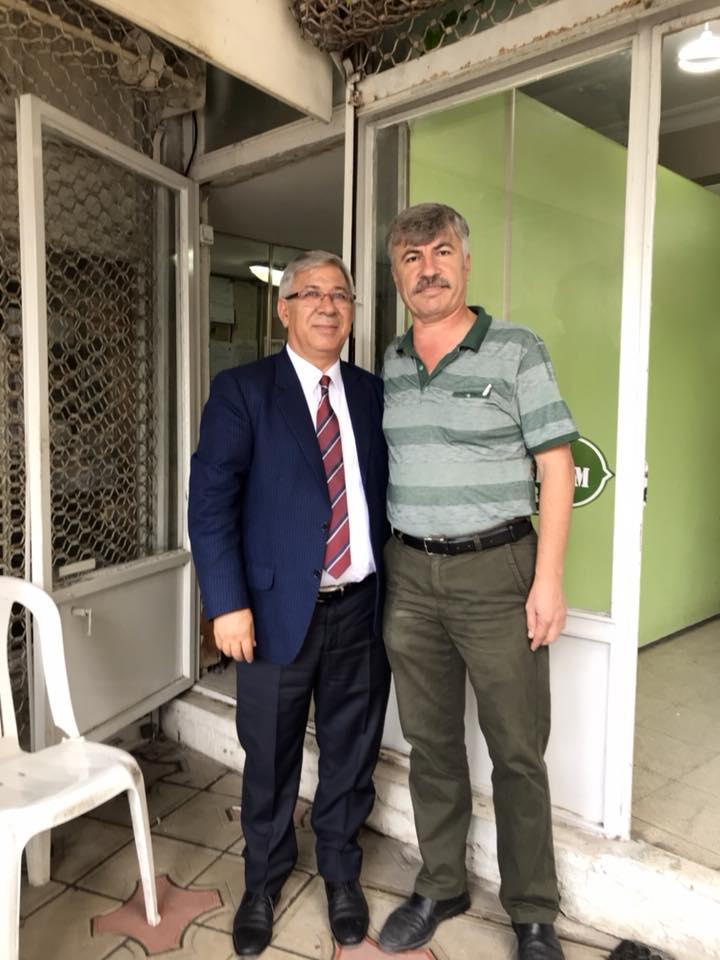 Kültür Mahallesi Muhtarımız Sayın Muharrem ŞEN'i ziyaret ettik