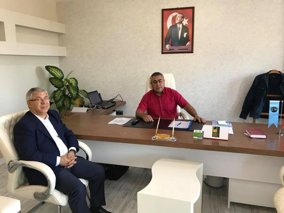 Petrol-İş Sendikası Aliağa Şube Başkanı Sayın Ahmet OKTAY Ziyaretimiz