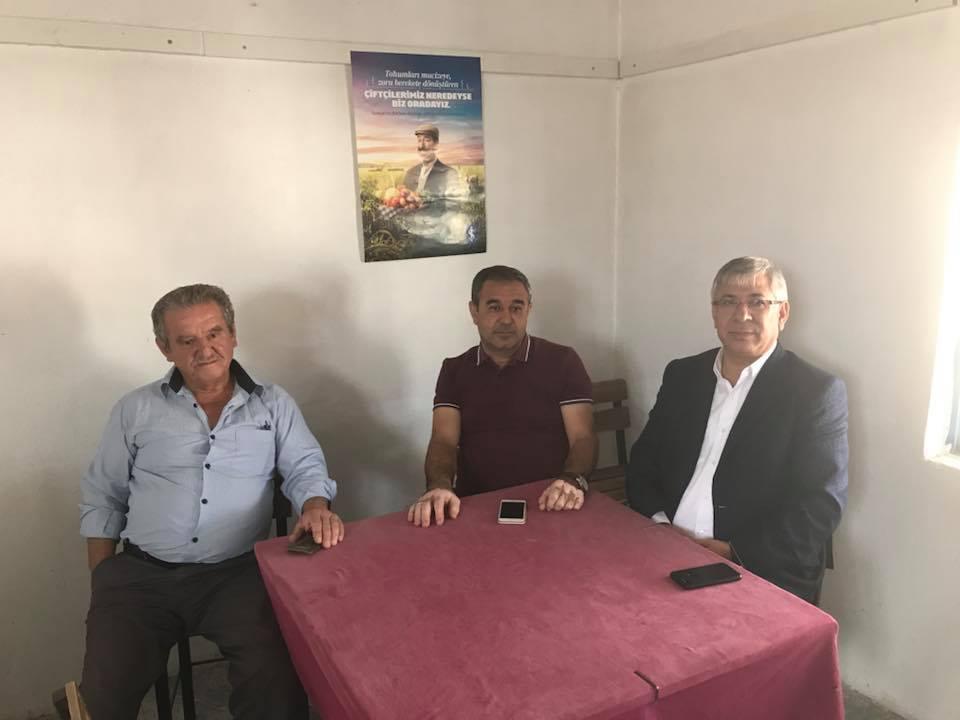 Kalabak Mahalle Muhtarı Mehmet KARTAL Ziyaretimiz