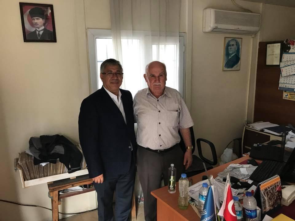 Kurtuluş Mahalle Muhtarı Sayın Mehmet İŞLEK Ziyaretimiz
